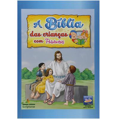 A Bíblia das Crianças com Palabritas