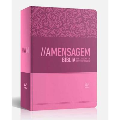 Bíblia a Mensagem Feminina (Semi-Luxo | Rosa)