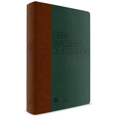 Bíblia Brasileira de Estudo - Verde e Marrom