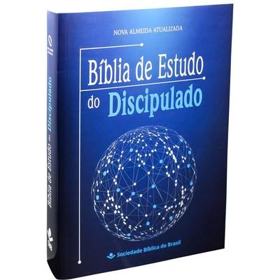 Bíblia de Estudo do Discipulado (Azul)
