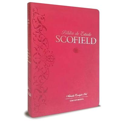 Bíblia de Estudo Scofield - Rosa