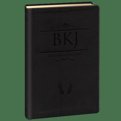 Bíblia King James 1611 Ultra Fina Gigante (Preta)