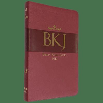 Bíblia King James 1611 (Ultrafina - Vermelha)