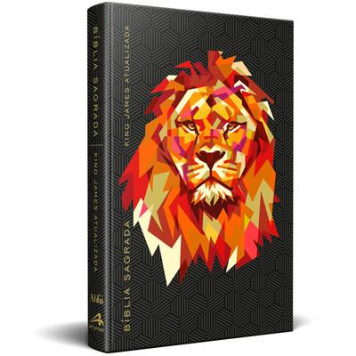 Bíblia King James - Atualizada (Leão Preta)