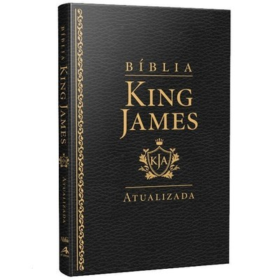 Bíblia King James - Atualizada Slim (Luxo Preta)