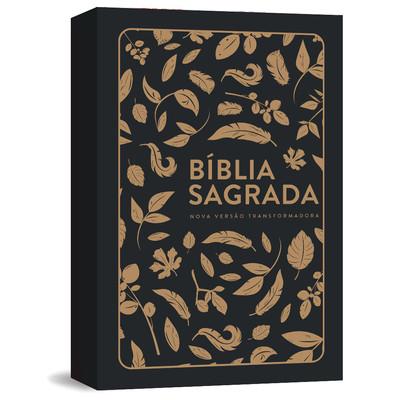 Bíblia NVT Letra Grande - Folhas Douradas