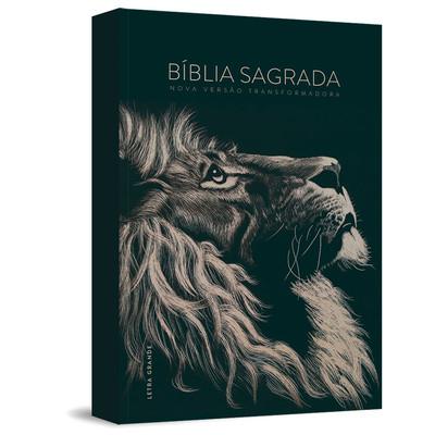 Bíblia NVT - Lion Preta (capa dura)