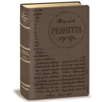 Bíblia Peshitta (Luxo Marrom)