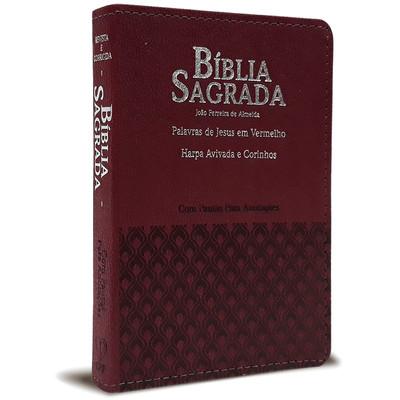 Bíblia Sagrada Com Pautas Para Anotações (Bordô)