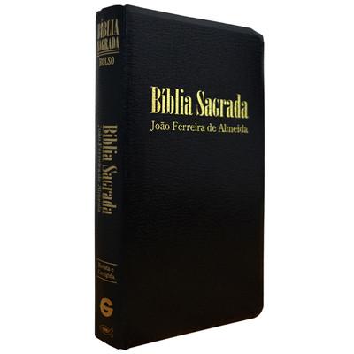 Bíblia Sagrada RC Bolso - Capa Luxo Preta