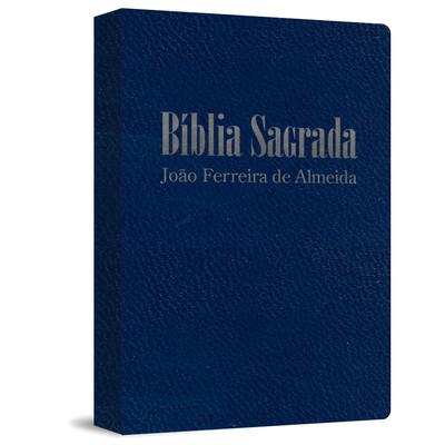 Bíblia Sagrada RC Gigante - Capa Zíper Azul