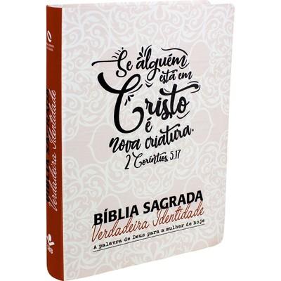 Bíblia Sagrada Verdadeira Identidade (Lettering)