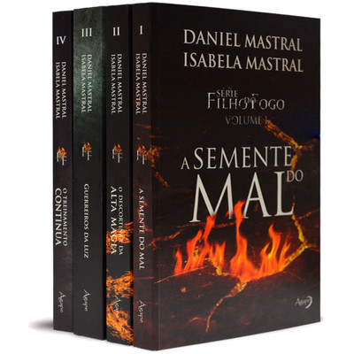 Combo Série Filho do Fogo (4 livros) - Daniel e Isabela Mastral