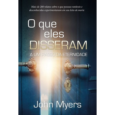 O Que Eles Disseram - John Myers