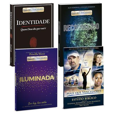 Combo 4 Livros (Inspirados no Filme: Mais Que Vencedores)