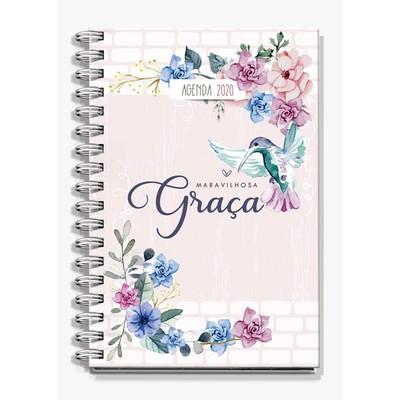 Agenda Maravilhosa Graça 2020 - Beija Flor
