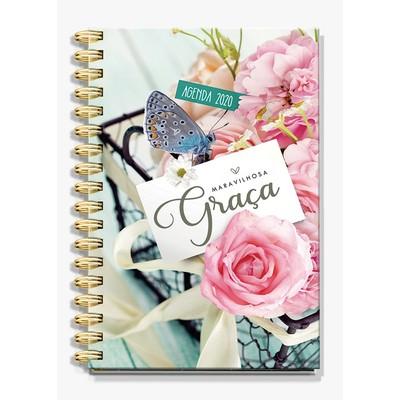Agenda Maravilhosa Graça 2020 - Flores