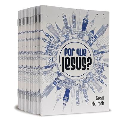 Combo 50 Livretos Evangelísticos - Por Que Jesus?