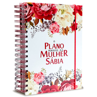 O Plano Perfeito da Mulher Sábia - Branco (Planner)