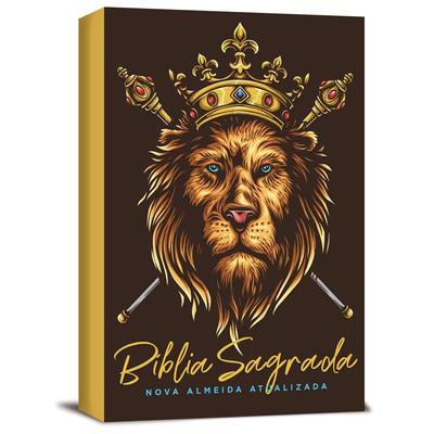 Bíblia NAA Leão Dourado