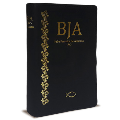 Bíblia Sagrada Letra Gigante  - RC - (BJA Luxo Preta)