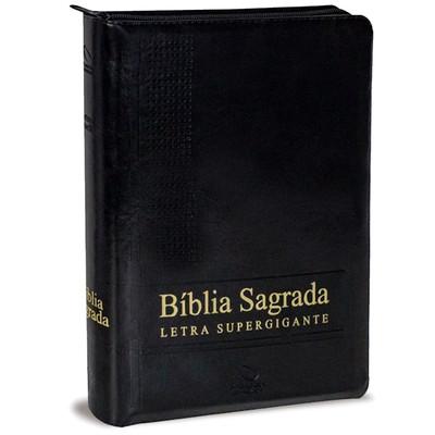 Bíblia Sagrada Supergigante NAA (Luxo Preta)