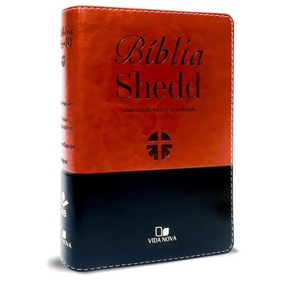 Bíblia Shedd (Marrom e Preto)