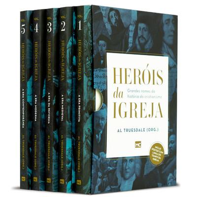 Box Heróis da Igreja - 5 Livros