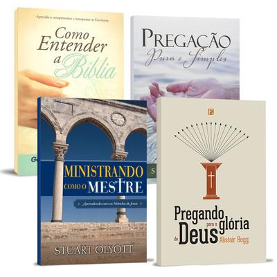 Combo 4 Livros - Aprimore Sua Pregação