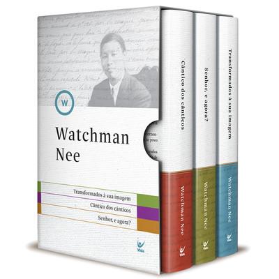 Box 3 Livros -  Watchman Nee