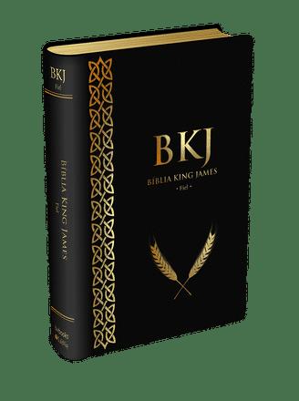 Bíblia King James 1611 (Luxo Preta)