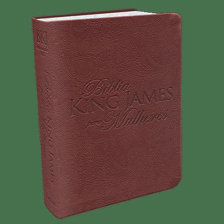 Bíblia King James Para Mulheres (Marrom)
