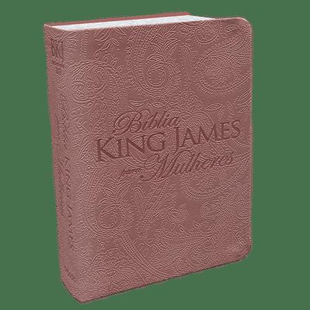 Bíblia King James Para Mulheres (Rosê Gold)
