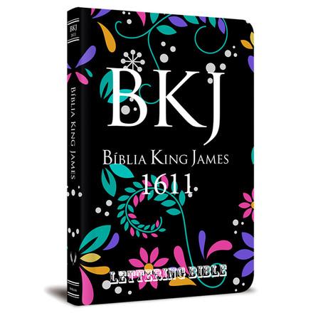 BKJ 1611 Ultra Fina - Lettering Bible (Floral)