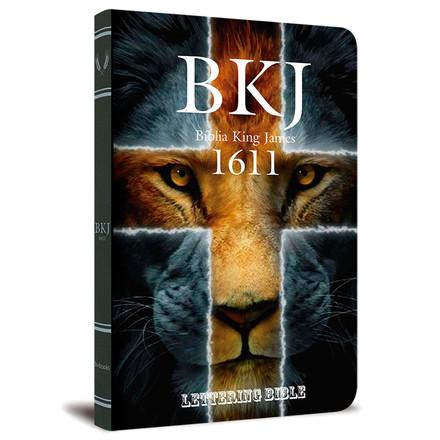 BKJ 1611 Ultra Fina - Lettering Bible (Leão)