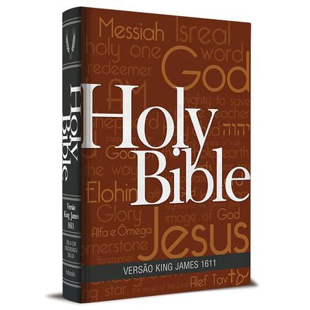 Bíblia King James 1611 Com Concordância (Capa Holy Bible)