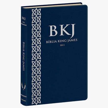 Bíblia King James 1611 (Ultrafina - Azul)