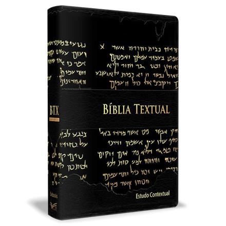 Bíblia Textual - Luxo Preta