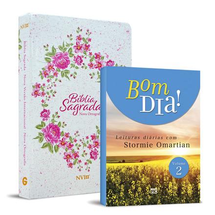 Combo Bíblia NVI Feminina + Devocional