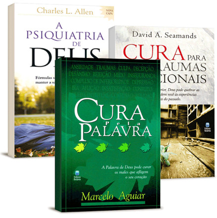 Combo 3 Livros - Cura Emocional