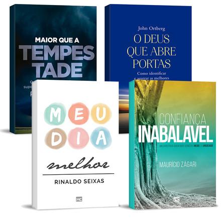 Combo 4 Livros - Espiritualidade e Vida Cristã