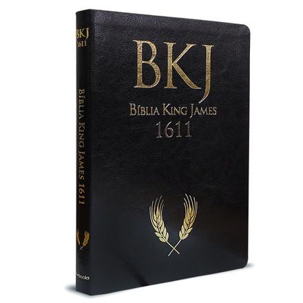 Bíblia King James Ultrafina Ampliada - Preta