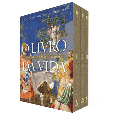 Box O Livro da Vida - 3 Volumes