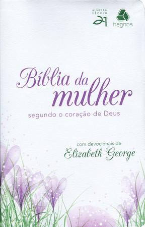 Bíblia da Mulher Segundo o Coração De Deus (Tulipa)
