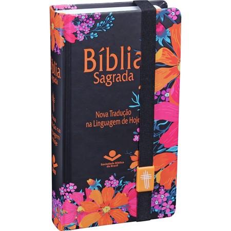 Bíblia Sagrada Carteira (Capa Flores)