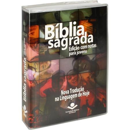 Bíblia com Notas para Jovens - Brochura (Harmonia)