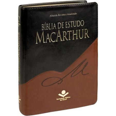 Bíblia de Estudo MacArthur (Preta e Marrom)