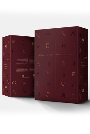 Bíblia de Estudo Nova Versão Transformadora (Luxo Marrom)