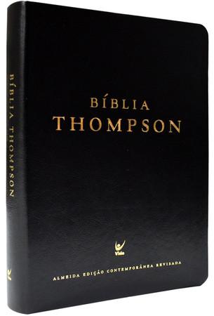 Bíblia Thompson (Luxo Preta)