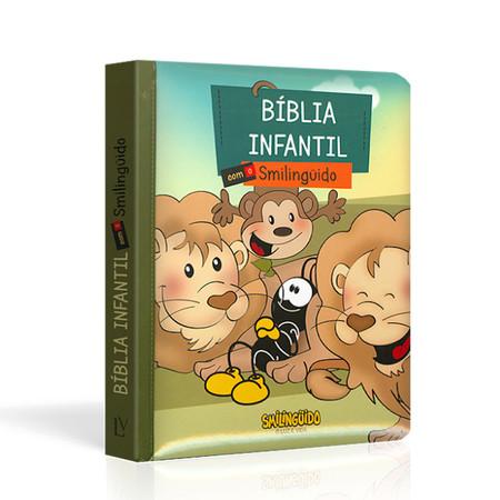 Bíblia Infantil com o Smilinguido (Capa Smilinguido)